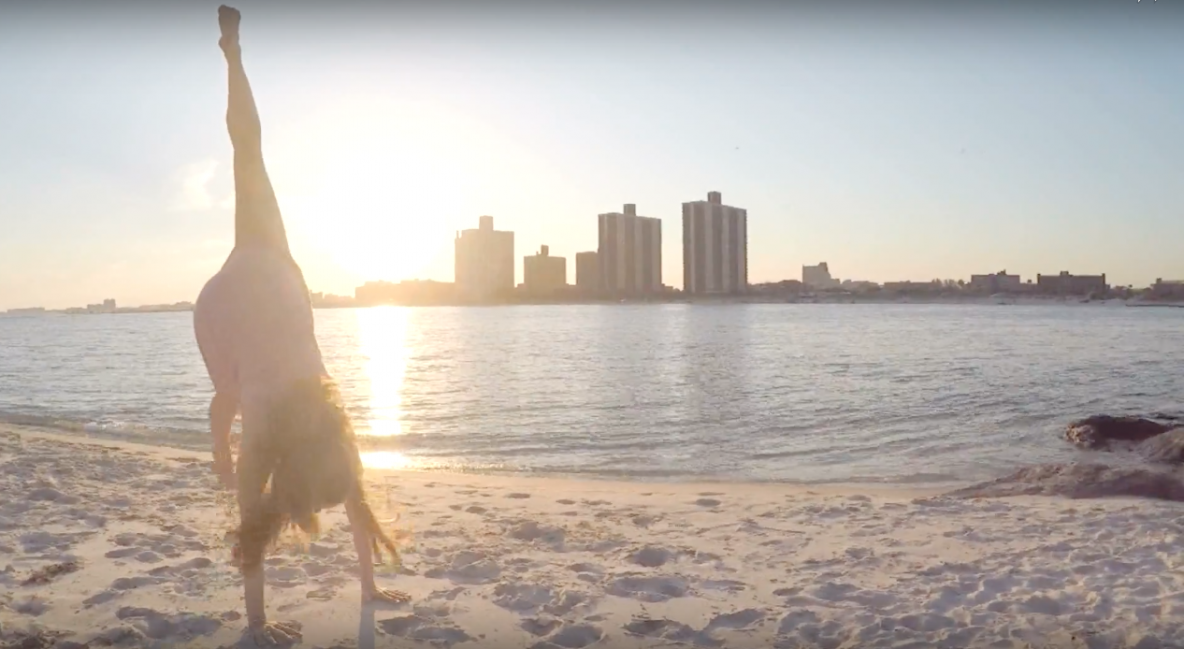 Atlantic Beach Moves dance film by Erin Lyons