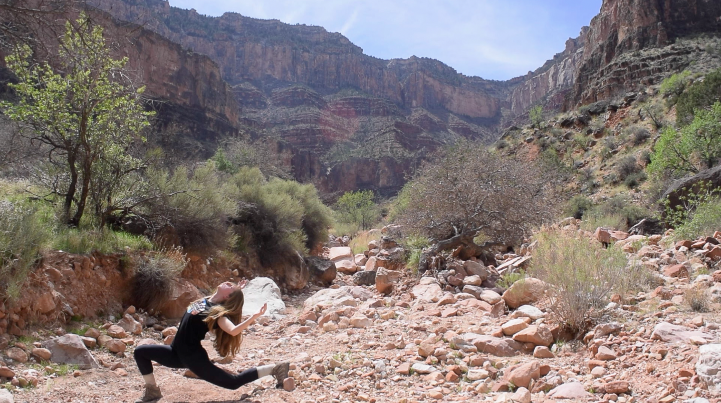 Bright Angel Trail dance film by Erin Lyons